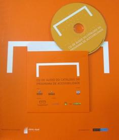 Catálogo de Acessibilidade do Museu do Futebol com audio CD