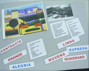 Jogos de imagens, textos e palavras