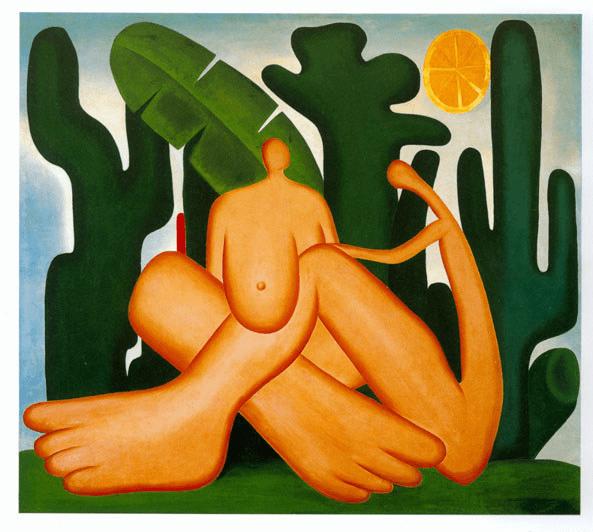 """Tarsila do Amaral - """"Antropofagia"""", 1929"""