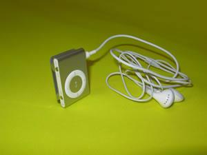 Aparelho mp3 para audioguia