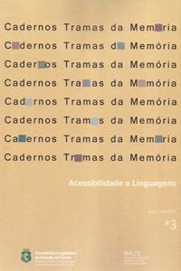 capa caderno tramas da memoria