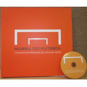 catalogo de acessibilidades do Museu do Futebol