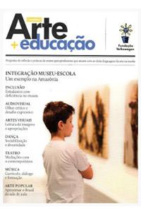 capa revista arte educação